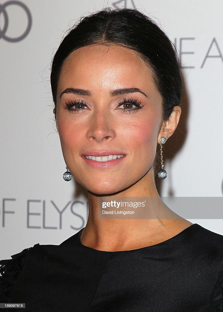 Actress Abigail Spencer attends the Art of Elysium's 6th Annual Black-tie Gala 'Heaven' at 2nd Street Tunnel on January 12, 2013 in Los Angeles, California.