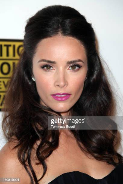 Actress Abigail Spencer attends the BTJA Critics' Choice Television Award held at The Beverly Hilton Hotel on June 10 2013 in Beverly Hills California