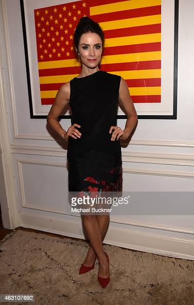 Actress Abigail Spencer attends the Dinner and Conversation with the creators of Sundance Channel's 'Rectify' hosted by Jennifer Howell Abigail...