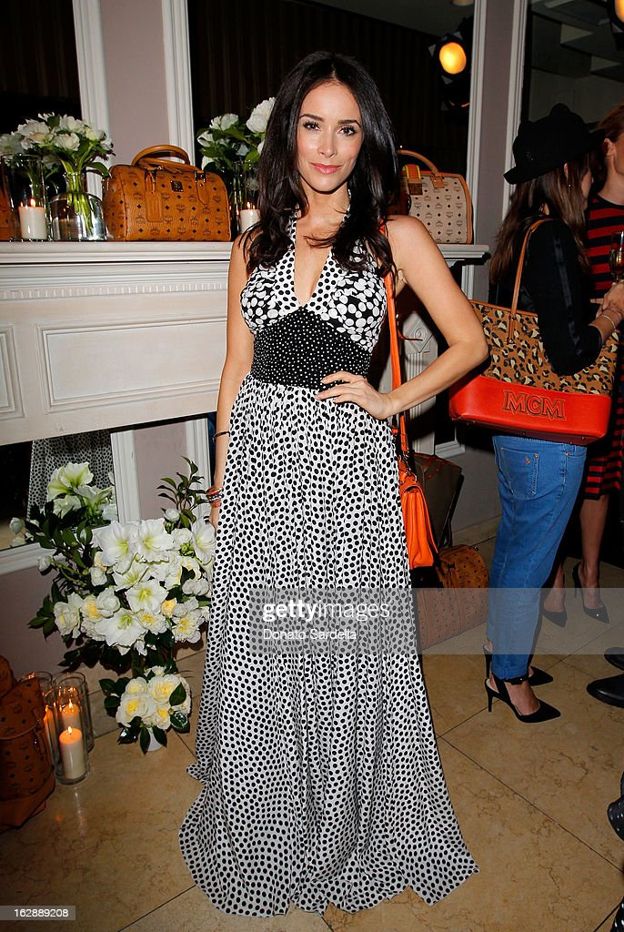 Actress Abigail Spencer attends the Dukes Of Melrose launch hosted by Decades, Harper's BAZAAR, and MCM on February 28, 2013 in Los Angeles, California.