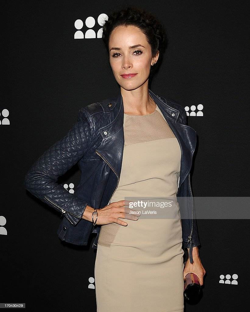 Actress Abigail Spencer attends the Myspace artist showcase event at El Rey Theatre on June 12, 2013 in Los Angeles, California.