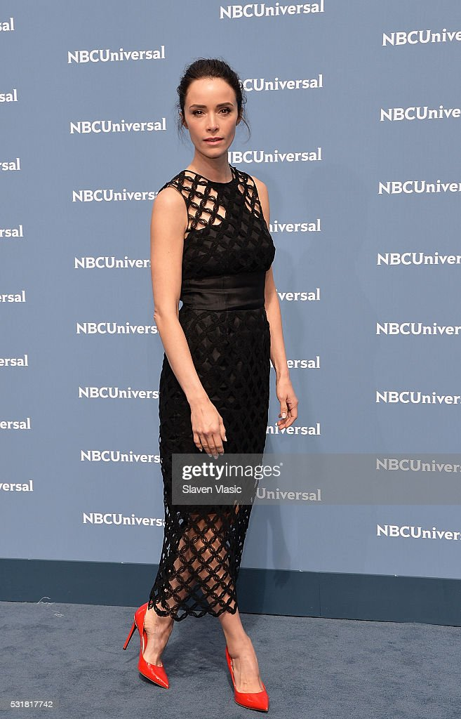Actress Abigail Spencer attends the NBCUniversal 2016 Upfront Presentation on May 16, 2016 in New York, New York.