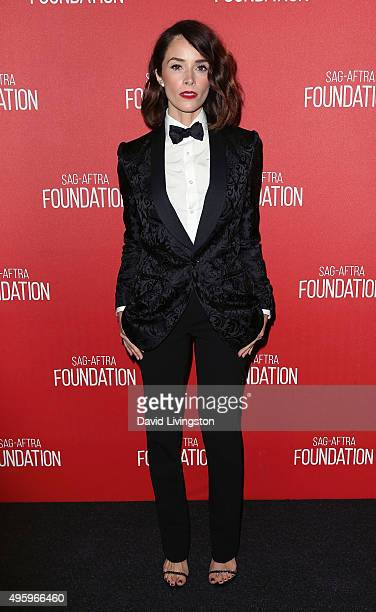 Actress Abigail Spencer attends the Screen Actors Guild Foundation 30th Anniversary Celebration at the Wallis Annenberg Center for the Performing...