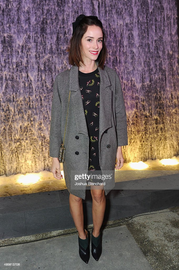 Actress Abigail Spencer attends the unveiling of the RH Modern Gallery in Los Angeles on November 4 2015