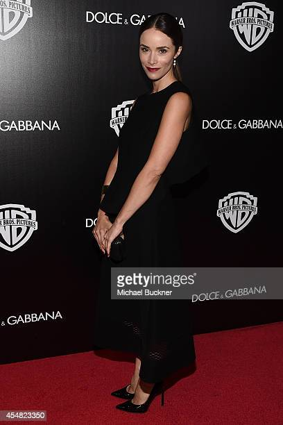 Actress Abigail Spencer attends the Warner Bros Pictures and Dolce Gabbana TIFF cocktail party during the 2014 Toronto International Film Festival at...