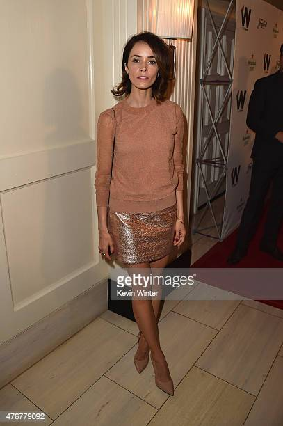 Actress Abigail Spencer attends TheWrap's 2nd annual Emmy party at The London Hotel on June 11 2015 in West Hollywood California