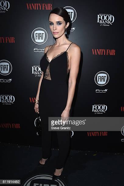 Actress Abigail Spencer attends Vanity Fair and FIAT Young Hollywood Celebration at Chateau Marmont on February 23 2016 in Los Angeles California