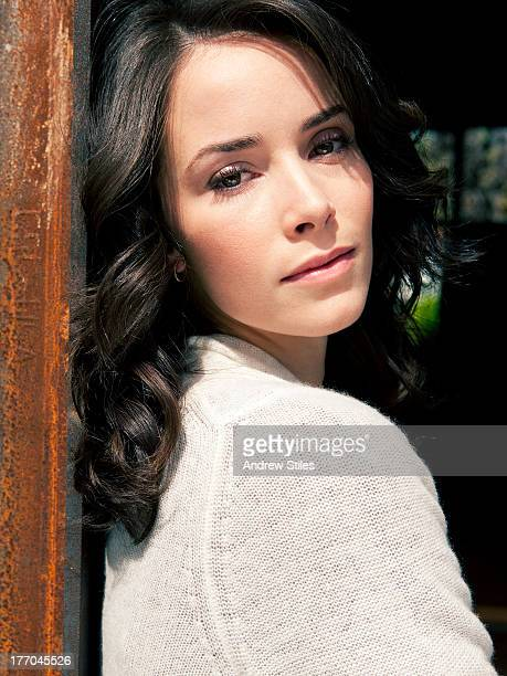 Actress Abigail Spencer is photographed for Self Assignment on October 1 2009 in Venice California
