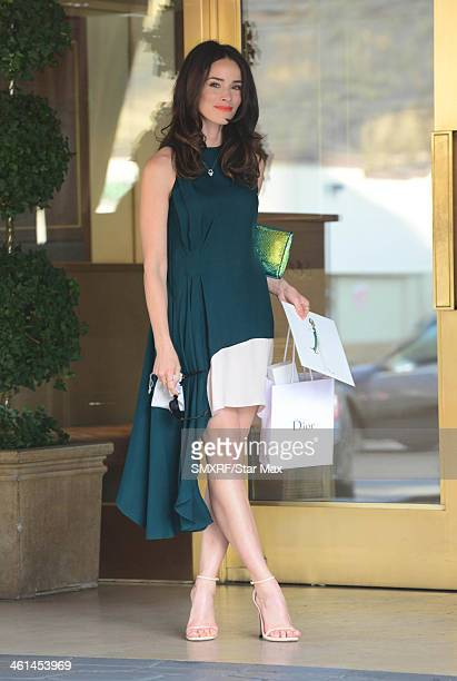 Actress Abigail Spencer is seen on January 8 2014 in Los Angeles California