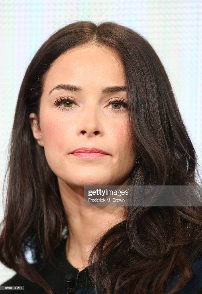 Actress Abigail Spencer speaks onstage at the 'Rectify' panel discussion during the Sundance Channel portion of the 2013 Winter TCA Tour- Day 2 at Langham Hotel on January 5, 2013 in Pasadena, California.