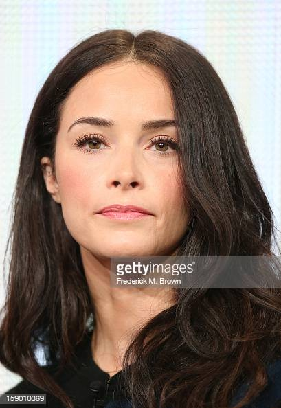 Actress Abigail Spencer speaks onstage at the 'Rectify' panel discussion during the Sundance Channel portion of the 2013 Winter TCA Tour Day 2 at...