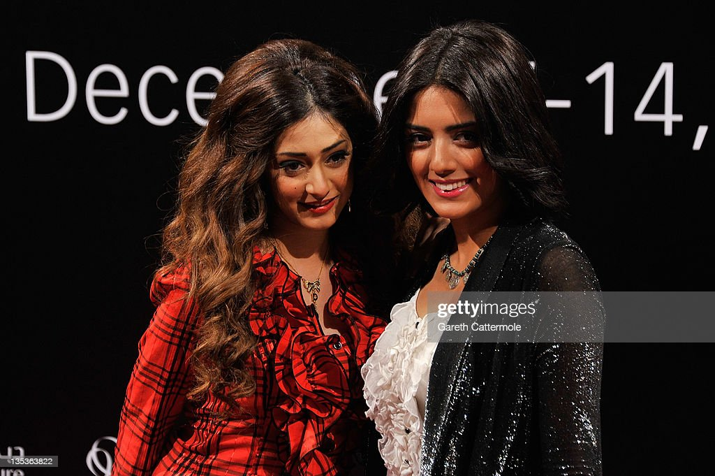 Actress Abrar al Sabt (L) attends the 'Terraferma' premiere during day three of the 8th Annual Dubai International Film Festival held at the Madinat Jumeriah Complex on December 9, 2011 in Dubai, United Arab Emirates.