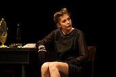 actress at theater play