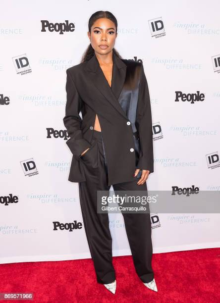 Actress activist and author Gabrielle Union representing The Rape Foundation attends the 2017 Inspire A Difference Honors Event at Dream Hotel on...