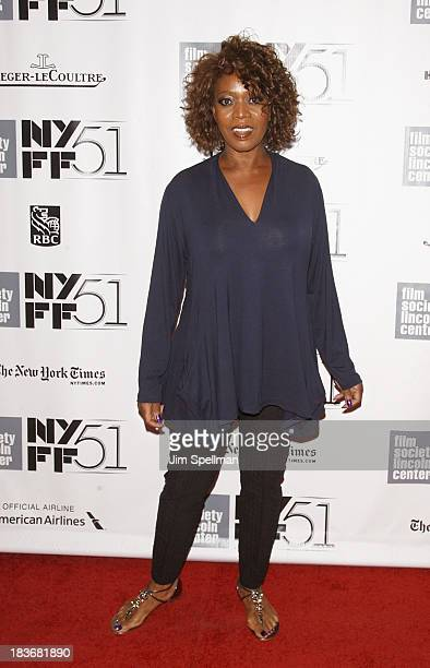 Actress actress Alfre Woodard attends the '12 Years A Slave' Premiere during the 51st New York Film Festival at Alice Tully Hall at Lincoln Center on...