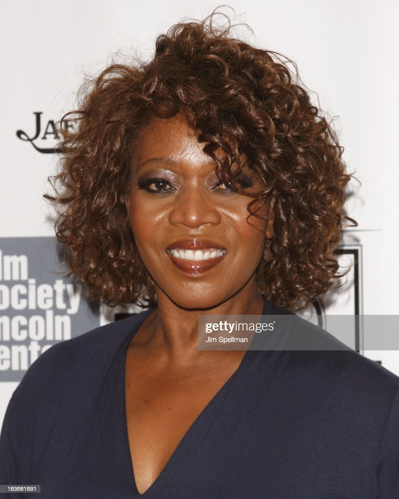 Actress actress <a gi-track='captionPersonalityLinkClicked' href=/galleries/search?phrase=Alfre+Woodard&family=editorial&specificpeople=220969 ng-click='$event.stopPropagation()'>Alfre Woodard</a> attends the '12 Years A Slave' Premiere during the 51st New York Film Festival at Alice Tully Hall at Lincoln Center on October 8, 2013 in New York City.
