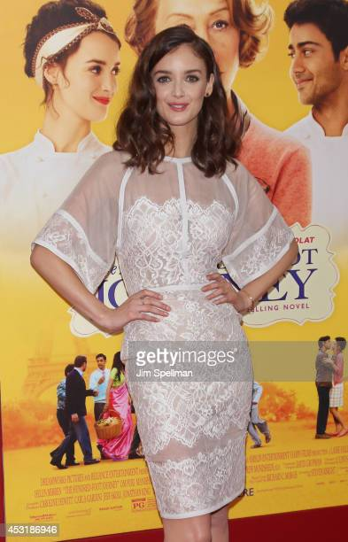Actress Actress Charlotte Le Bon attends the 'The HundredFoot Journey' New York Premiere at Ziegfeld Theater on August 4 2014 in New York City