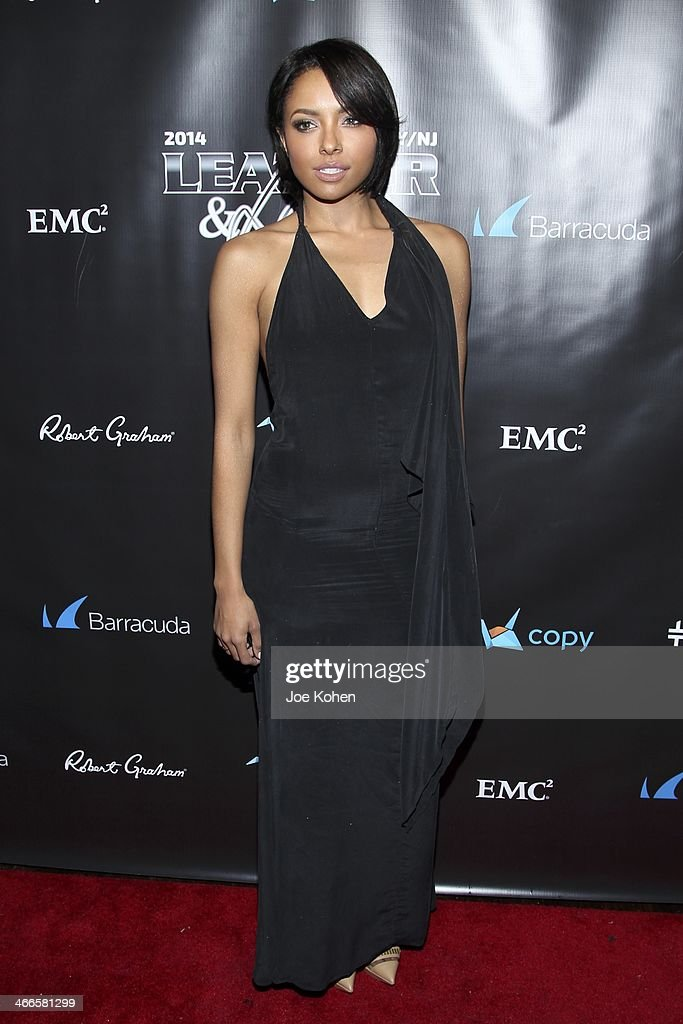 Actress Actress Kat Graham attends the 11th Annual 'Leather & Laces' Party at The Liberty Theatre on February 1, 2014 in New York City.