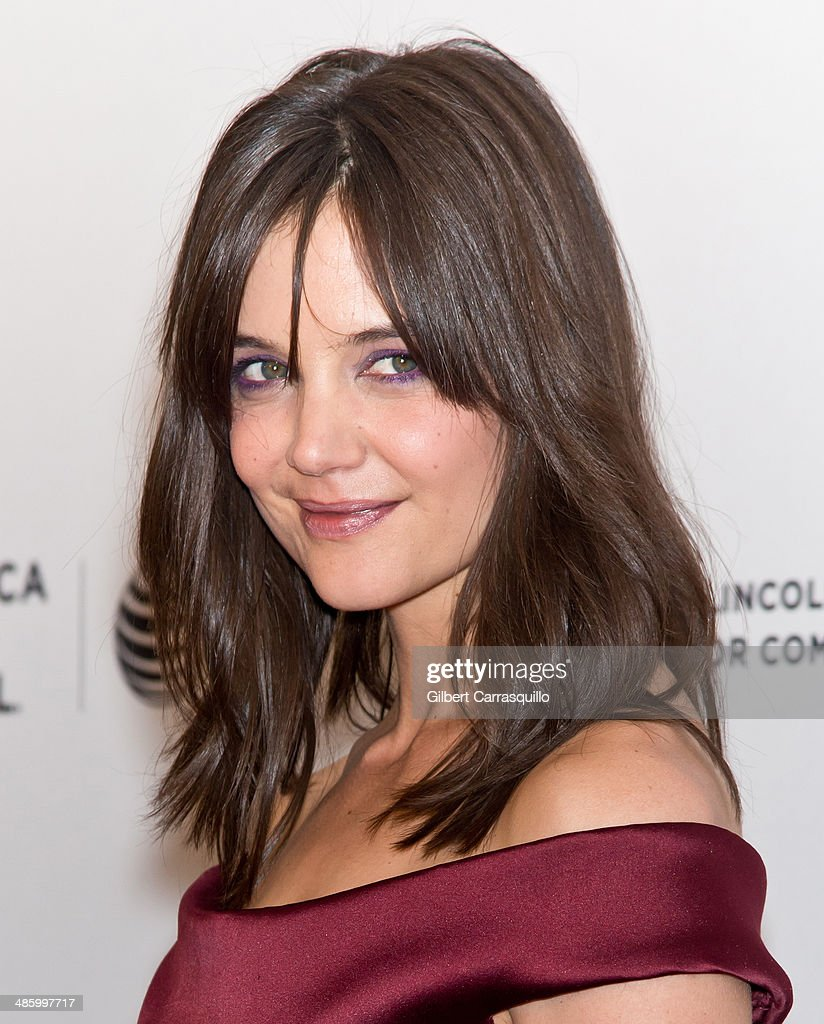 Actress Actress <a gi-track='captionPersonalityLinkClicked' href=/galleries/search?phrase=Katie+Holmes&family=editorial&specificpeople=201598 ng-click='$event.stopPropagation()'>Katie Holmes</a> attends the screening of 'Miss Meadows' during the 2014 Tribeca Film Festival at SVA Theater on April 21, 2014 in New York City.