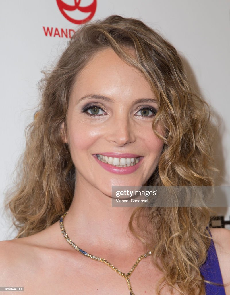 Actress Actress <a gi-track='captionPersonalityLinkClicked' href=/galleries/search?phrase=Laura+Weissbecker&family=editorial&specificpeople=7612898 ng-click='$event.stopPropagation()'>Laura Weissbecker</a> attends the Los Angeles premiere of 'Chinese Zodiac' at AMC Century City 15 theater on October 16, 2013 in Century City, California.