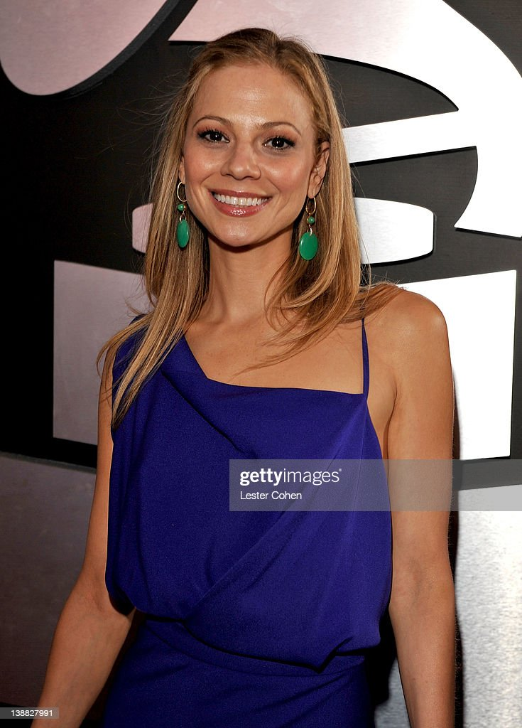 Actress Actress Tamara Braun arrives at The 54th Annual GRAMMY Awards at Staples Center on February 12, 2012 in Los Angeles, California.