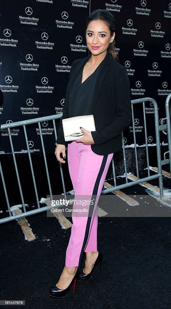 Actress Actress Taylor Spreitler attends Fall 2013 Mercedes-Benz Fashion Show at The Theater at Lincoln Center on February 10, 2013 in New York City.