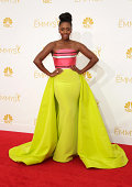 Actress Actress Teyonah Parris attends the 66th Annual Primetime Emmy Awards held at Nokia Theatre LA Live on August 25 2014 in Los Angeles California