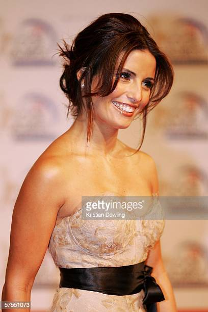 Actress Ada Nicodemou arrives at the 48th Annual TV Week Logie Awards at the Crown Entertainment Complex on May 7 2006 in Melbourne Australia
