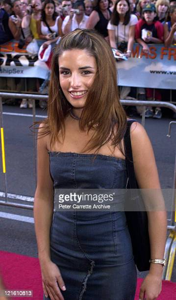 Actress Ada Nicodemou arrives for the premiere of the film 'Vanilla Sky' at The State Theatre on December 19 2001 in Sydney Australia