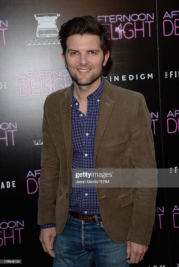 Actress Adam Scott attends the premiere of the Film Arcade and Cinedigm's 'Afternoon Delight' at ArcLight Hollywood on August 19, 2013 in Hollywood, California.