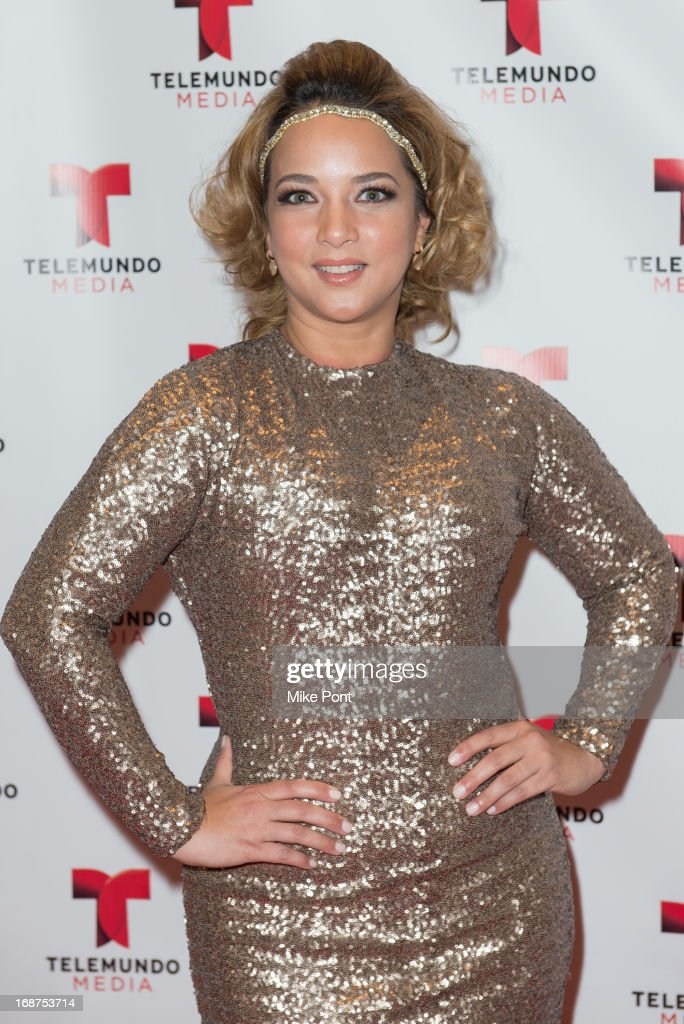 Actress Adamari Lopez attends the 2013 Telemundo Upfront at Frederick P. Rose Hall, Jazz at Lincoln Center on May 14, 2013 in New York City.