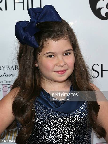 Actress Addison Riecke attends Ryan Newman's Glitz and Glam Sweet 16 birthday party at the Emerson Theater on April 27 2014 in Hollywood California