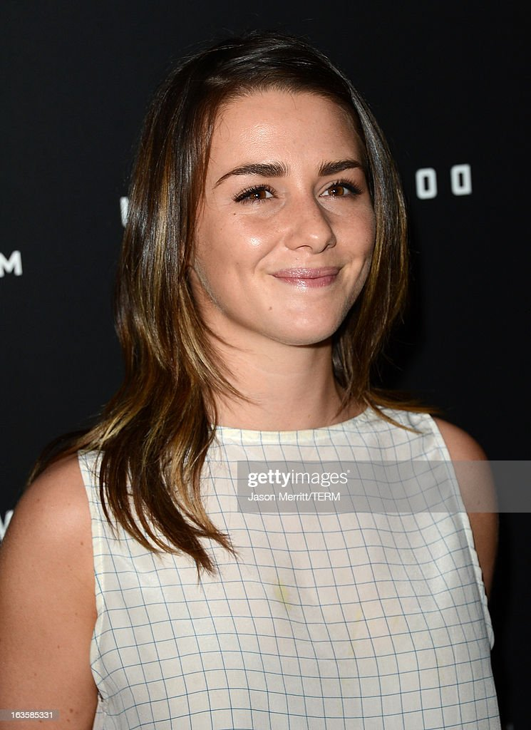 Actress Addison Timlin arrives at a special LA screening of Millennium Entertainment's 'Upside Down' at ArcLight Hollywood on March 12, 2013 in Hollywood, California.