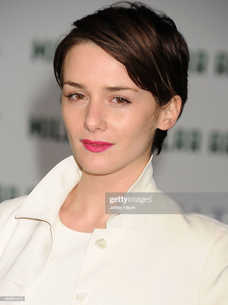 Actress <a gi-track='captionPersonalityLinkClicked' href=/galleries/search?phrase=Addison+Timlin&family=editorial&specificpeople=2189036 ng-click='$event.stopPropagation()'>Addison Timlin</a> arrives at the Los Angeles premiere of 'Million Dollar Arm' at the El Capitan Theatre on May 6, 2014 in Hollywood, California.