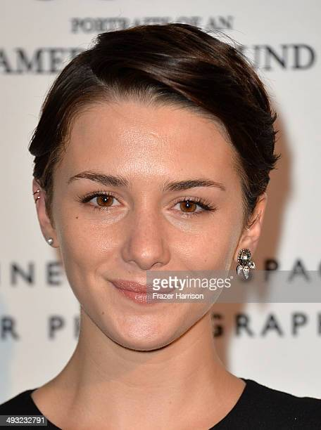 Actress Addison Timlin attends the Annenberg Space for Photography Opening Celebration for 'Country Portraits of an American Sound' at the Annenberg...