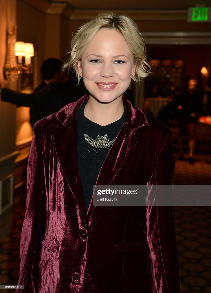 Actress Adelaide Clemens attends the HBO Winter 2013 TCA Panel at The Langham Huntington Hotel and Spa on January 4, 2013 in Pasadena, California.