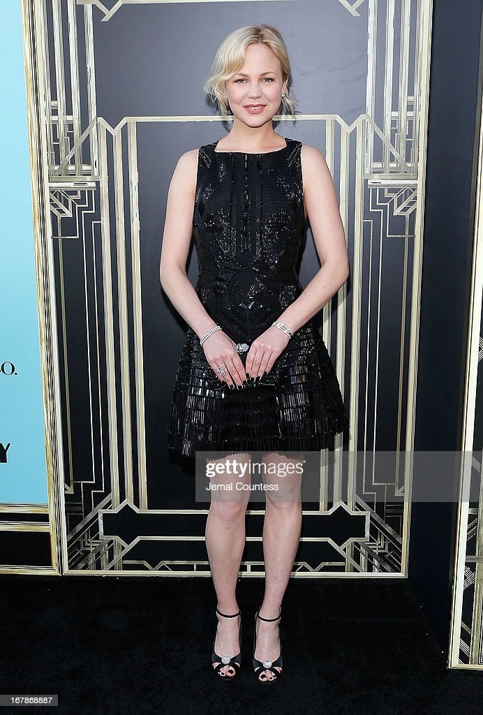 Actress <a gi-track='captionPersonalityLinkClicked' href=/galleries/search?phrase=Adelaide+Clemens&family=editorial&specificpeople=4687667 ng-click='$event.stopPropagation()'>Adelaide Clemens</a> attends the 'The Great Gatsby' world premiere at Avery Fisher Hall at Lincoln Center for the Performing Arts on May 1, 2013 in New York City.