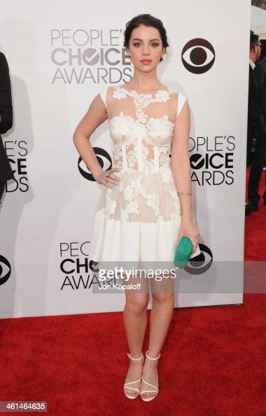 Actress Adelaide Kane arrives at The 40th Annual People's Choice Awards at Nokia Theatre LA Live on January 8 2014 in Los Angeles California