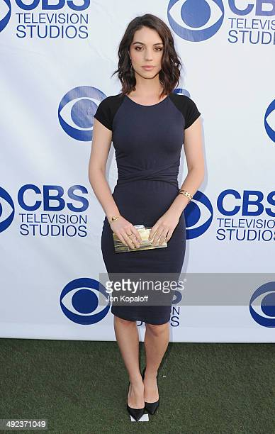 Actress Adelaide Kane arrives at the CBS Summer Soiree at The London West Hollywood on May 19 2014 in West Hollywood California