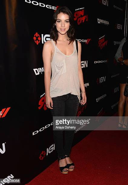Actress Adelaide Kane attends IGN 'Sin City A Dame to Kill For' ComicCon International Party during ComicCon International 2014 at Hard Rock Hotel...