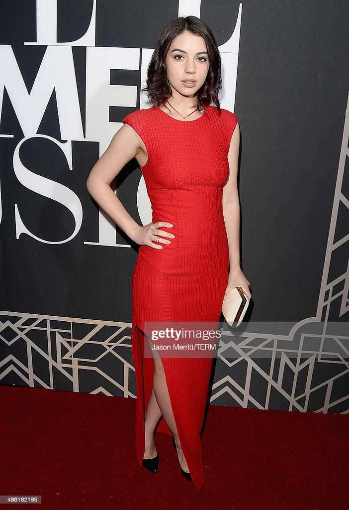 Actress <a gi-track='captionPersonalityLinkClicked' href=/galleries/search?phrase=Adelaide+Kane&family=editorial&specificpeople=1052995 ng-click='$event.stopPropagation()'>Adelaide Kane</a> attends the 5th Annual ELLE Women in Music Celebration presented by CUSP by Neiman Marcus. Hosted by ELLE Editor-in-Chief Robbie Myers with performances by Sarah McLachlan, Angel Haze and Betty Who, with special DJ set by Rumer Willis at Avalon on April 22, 2014 in Hollywood, California.