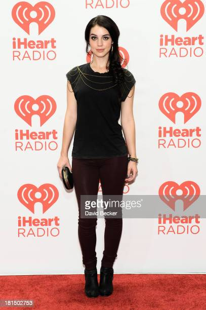 Actress Adelaide Kane attends the iHeartRadio Music Festival at the MGM Grand Garden Arena on September 21 2013 in Las Vegas Nevada