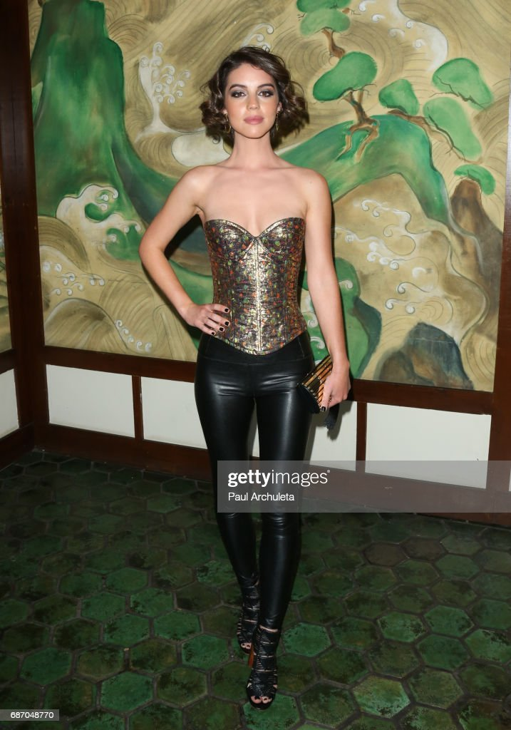 Actress Adelaide Kane attends the Wolk Morais Collection 5 Fashion Show at Yamashiro Hollywood on May 22, 2017 in Los Angeles, California.