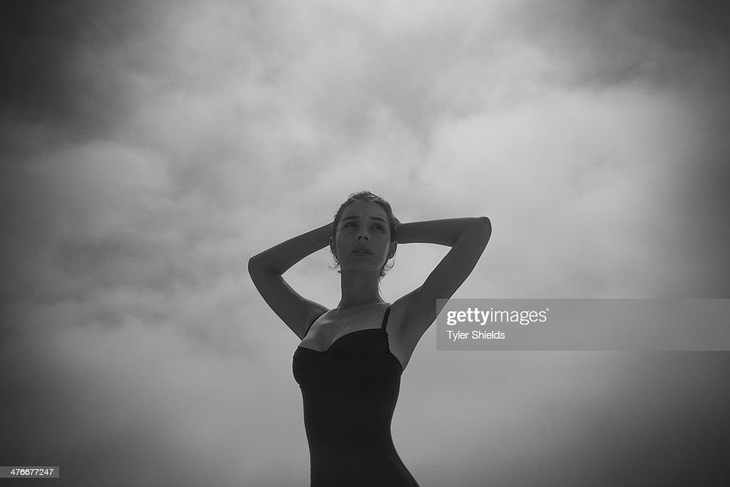 Actress Adelaide Kane is photographed for Self Assignment on March 15, 2014 in Los Angeles, California.