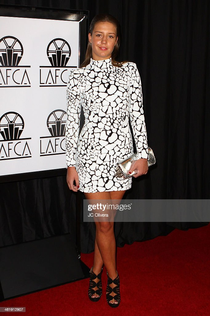 Actress Adele Exarchopoulos attends The 39th Annual Los Angeles Film Critics Association Awards at InterContinental Hotel on January 11, 2014 in Century City, California.