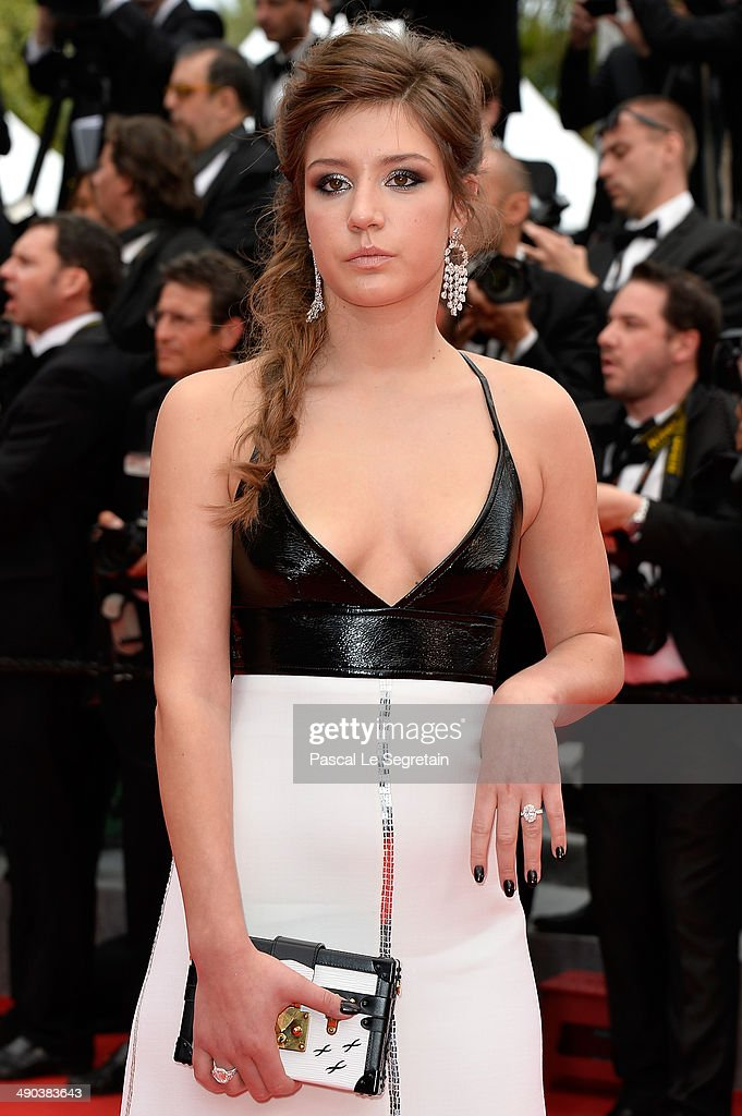 Actress Adele Exarchopoulos attends the Opening ceremony and the 'Grace of Monaco' Premiere during the 67th Annual Cannes Film Festival on May 14, 2014 in Cannes, France.