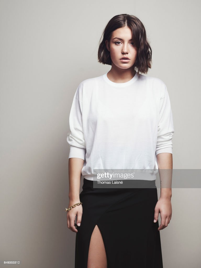 Actress Adele Exarchopoulos is photographed for Self Assignment on September 7, 2017 in Venice, Italy. (Photo by Thomas Laisné/Contour by Getty Images).