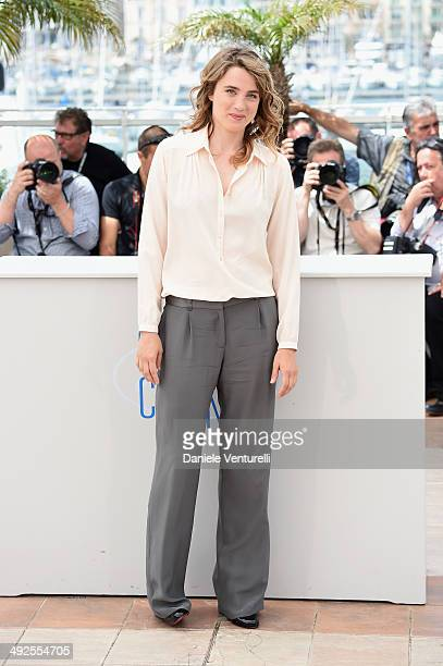Actress Adele Haenel attends the 'In The Name Of My Daughter' photocall at the 67th Annual Cannes Film Festival on May 21 2014 in Cannes France