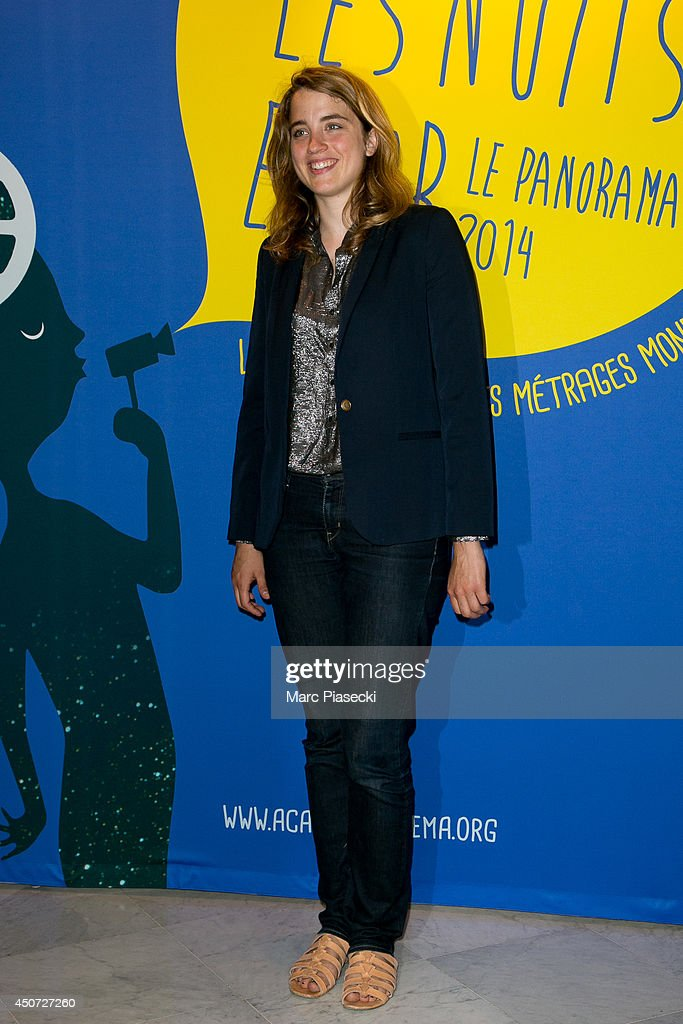 Actress Adele Haenel attends the 'Panorama des Nuits en or' gala dinner UNESCO on June 16, 2014 in Paris, France.