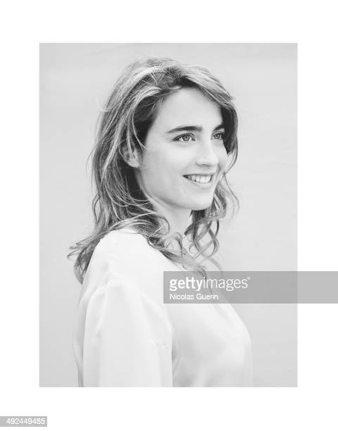 Actress Adele Haenel is photographed for Self Assignment on May 17 2014 in Cannes France